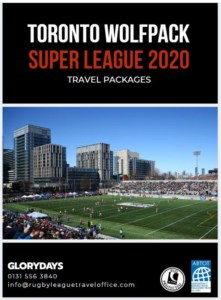 Toronto Wolfpack Super League Packages